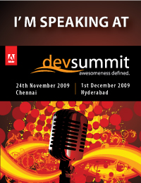 Speaking at Adobe DevSummit